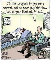 psychiatrist, Facebook, friends, therapy, Funny Friday, Grammarly