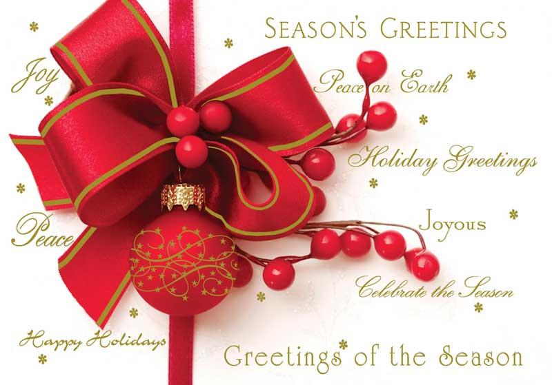 Christmas Cards, e-cards. season's greetings, Grammarly
