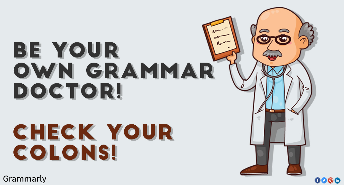 using colons in your writing
