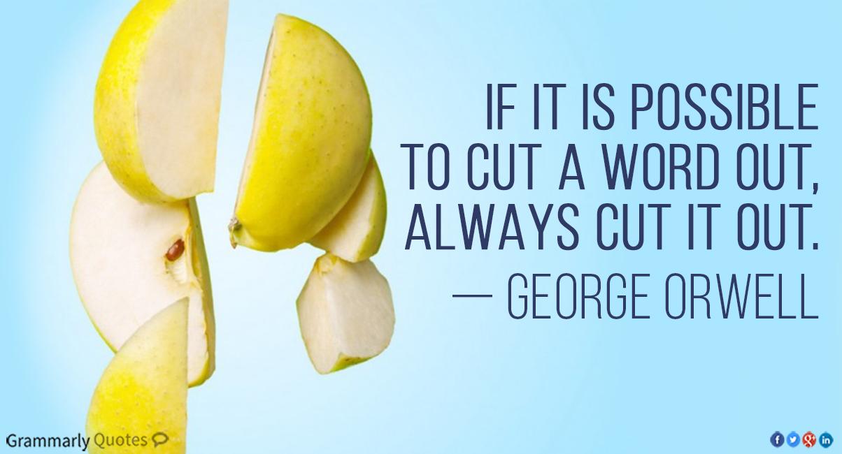 always cut it out
