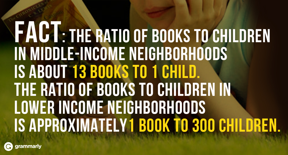 Ratio of Books to Children