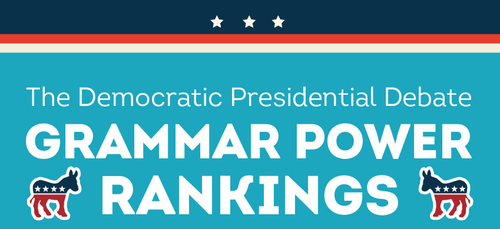 Democratic Debate Grammar Rankings Thumb